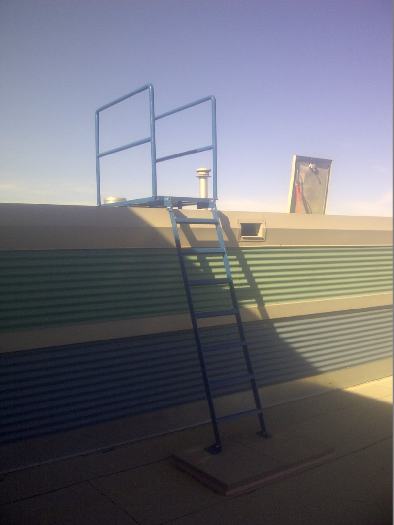 Roof Access Ladders And Platforms